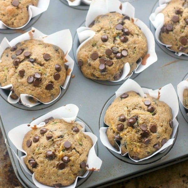 Chocolate chip muffins recipe with baking soda