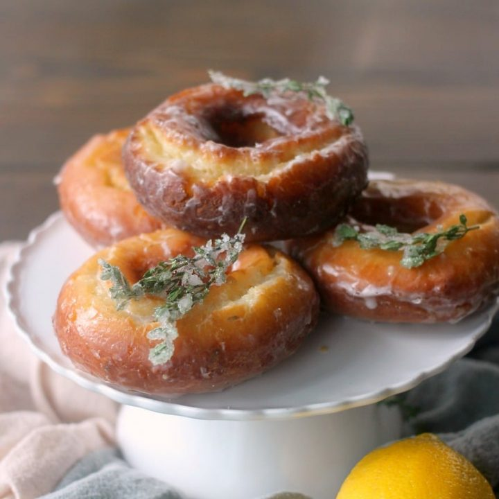 Lemon & Thyme Old-Fashioned Donuts