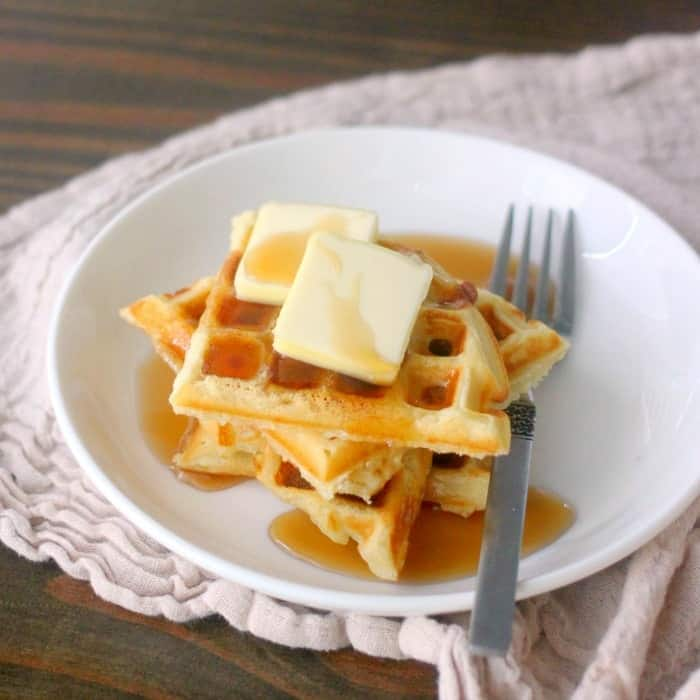 Easy Waffle Recipe With 5 Variations