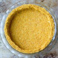 Graham Cracker Crust, Cookie Crust
