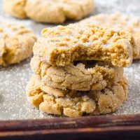 Soft Peanut Butter Cookies