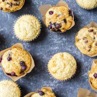 Basic Muffin Recipe (Vegan and Gluten Free Options)
