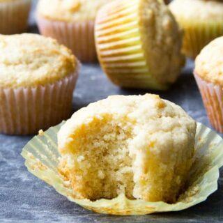 Easy Sourdough Muffins