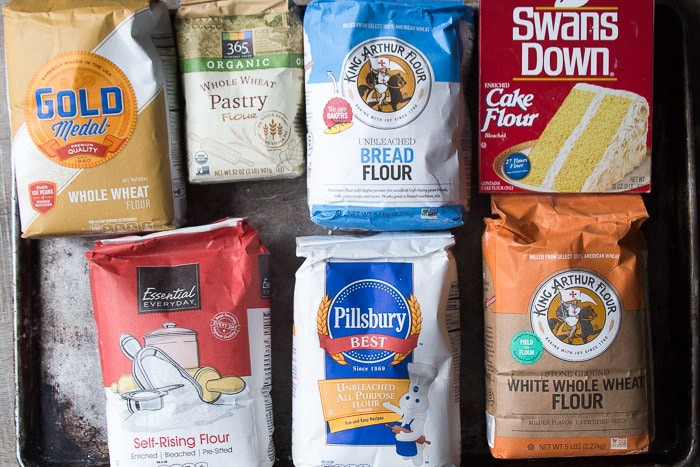 Function of Flour in Baking, Differences in Varieties of