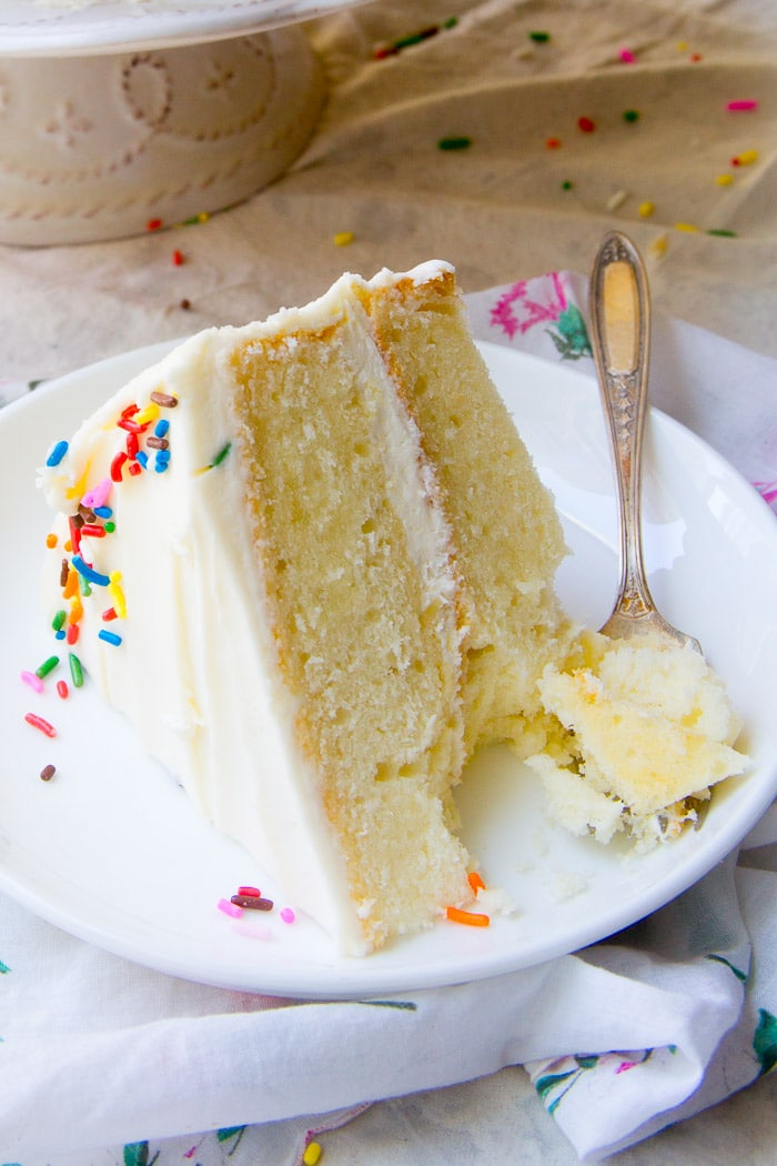 Best White Cake Recipe   Baker Bettie