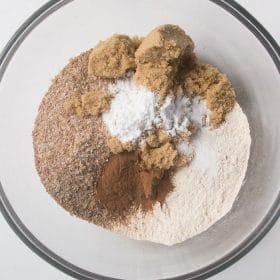 Refrigerator bran muffin dry ingredients