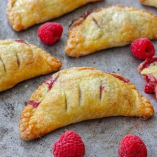 Raspberry Turnovers (Hand Pies)