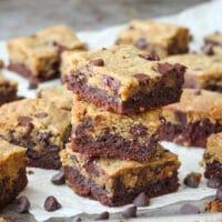 Brookies (Brownie + chocolate Chip Cookie)