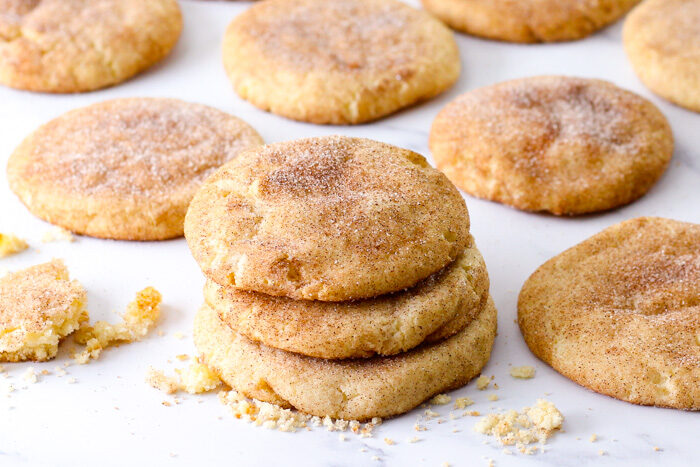 Baked snickerdoodles