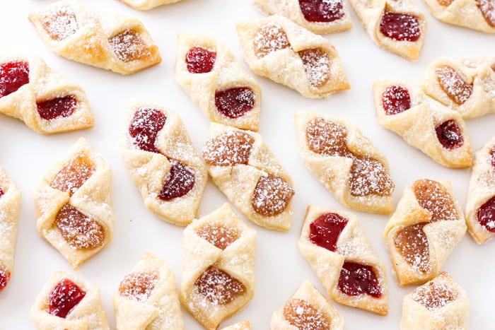 Polish Kolaczki Cookies Cream Cheese Cookies Baker Bettie